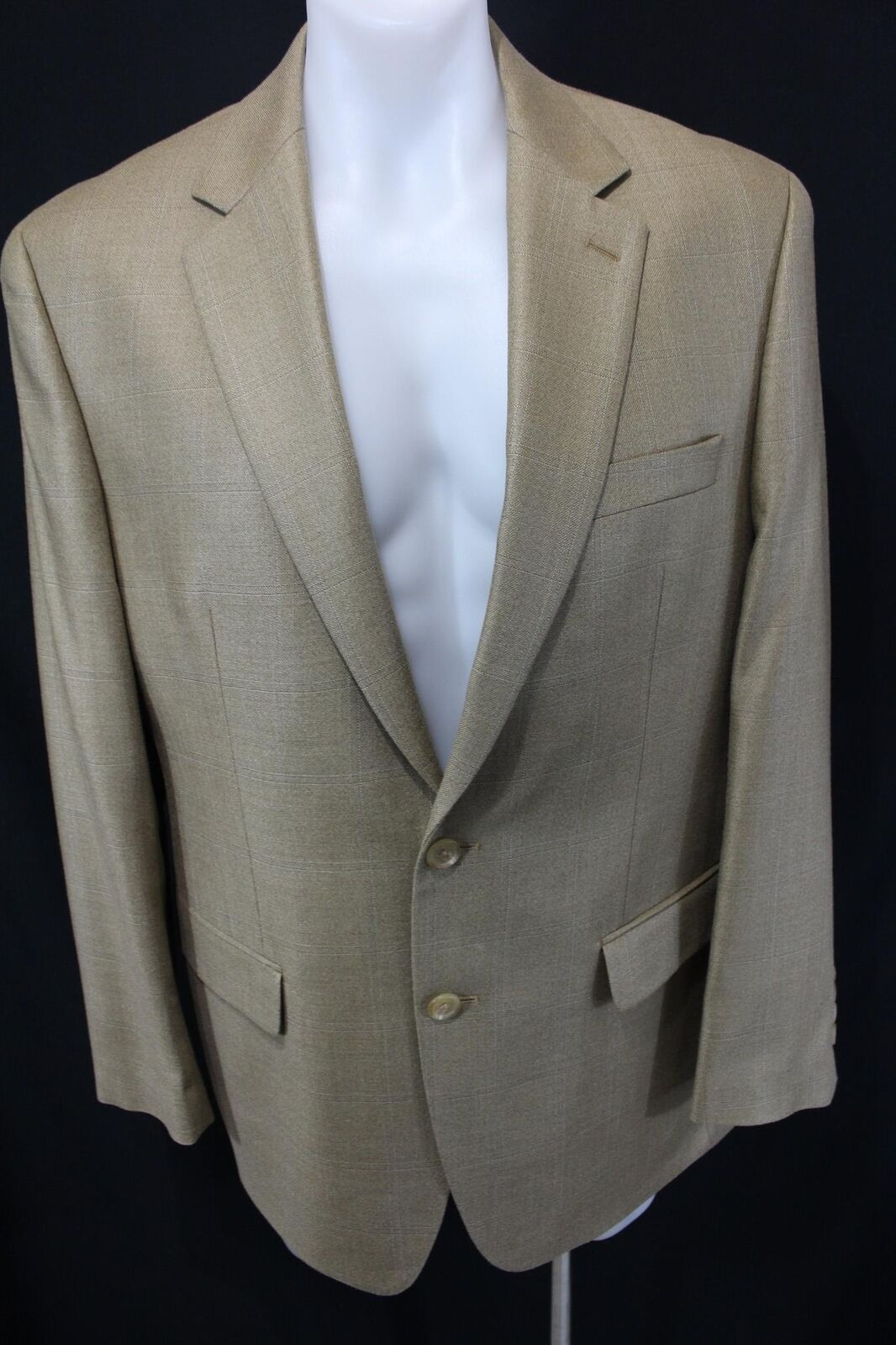 RALPH LAUREN for DILLARD'S 2 Button 52% Silk 48% Wool SPORT COAT Blazer 41R
