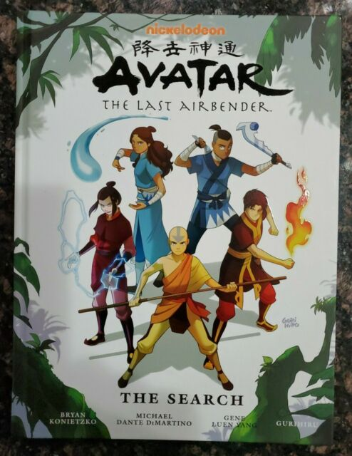 RARE=NICKELODEON: Avatar The Last Airbender THE SEARCH, 1st ED, DARK HORSE BOOKS
