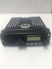 Motorola Xtl1500 Mobile Radio M28urs9pw1an 800mhz Used