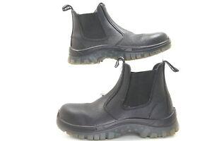 Men-039-s-Tradie-Mack-Boots-Black-Size-5-SAS-Safety-SAS-LP-Tradie