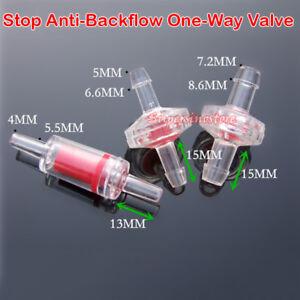 7mm Anti Backflow One Way Valve 2pcs Pet Supplies
