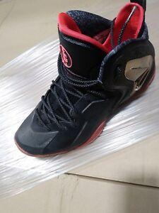 huge discount eb3a9 3648d Image is loading Nike-Lil-Penny-Posite-NOLA-Gumbo-League-Black-