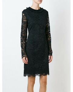 Image Is Loading Marc By Jacobs Long Sleeves Lace Dress