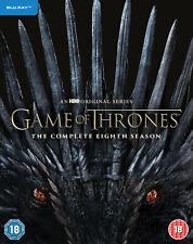 Game of Thrones: Season 8 [2019] (Blu-ray) Emilia Clarke,Peter Dinklage