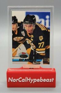 1993-94 Topps Stadium Club Hockey Ray Bourque #160 NHL Bruins