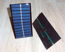 Solarzelle Mini - Solarzelle 110mm x 60mm ( 11cm x 6cm) 6V ca. 1W