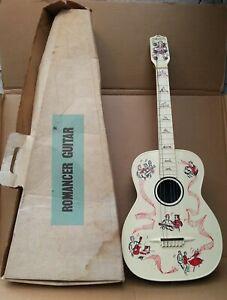 Maccaferri New Romancer Plastic Guitar, circa 1957