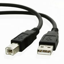 5ft USB 2.0 Type A to Type B Male Printer Cord Cable Dell HP CANNON BROTHER New