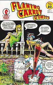 FLAMING CARROT COMICS NUMBER 20 NOVEMBER 1988 BOB BURDEN