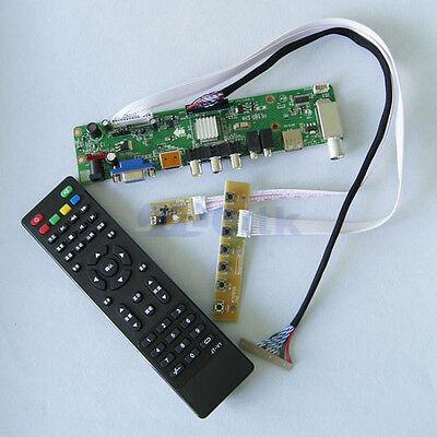 "TV+HDMI+VGA+AV+USB+AUDIO LCD Controller Board For 27"" V270W1-L04 LCD  Panel"