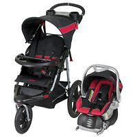 Baby Trend Range Travel System Folding Jogging Stroller, Centennial| Tj99181 on sale