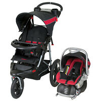 Baby Trend Range Travel System Folding Jogging Stroller, Centennial| Tj99181 on sale