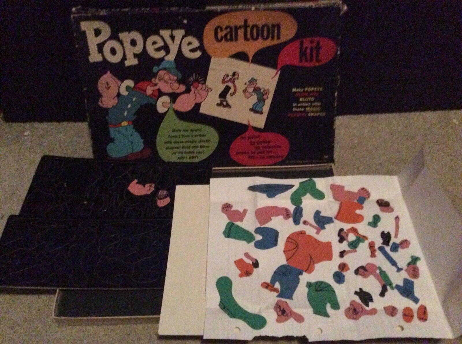 Rare 1957 1957 1957 Popeye Cartoon Kit 33c6f0