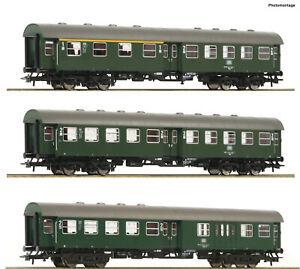 Roco-H0-74184-Umbauwagen-Set-der-DB-3-teilig-034-Neuheit-2020-034-NEU-OVP