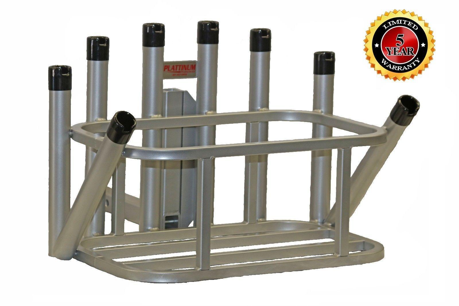 Plattinum, Fishing Rod Holder Cooler Holder  48-54 Qt w Notched Rod Caps  up to 60% discount