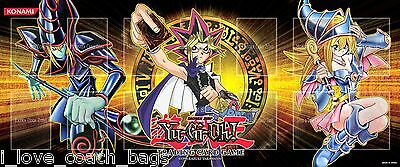Yugioh  Yugi Dark Magician Dark Magician Girl Gold Series 4/'Mat YuGiOh UK