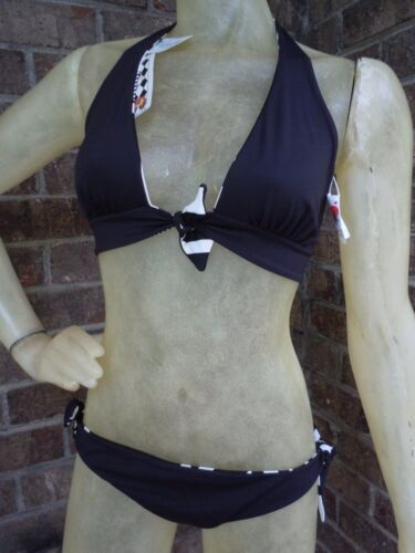 BSwim Reversible Bikini ALICE Swimsuit B Swim Black White You Choose Size
