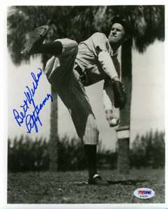 Lefty-Gomez-Psa-Dna-Coa-Autograph-8x10-Photo-Hand-Signed-Authentic