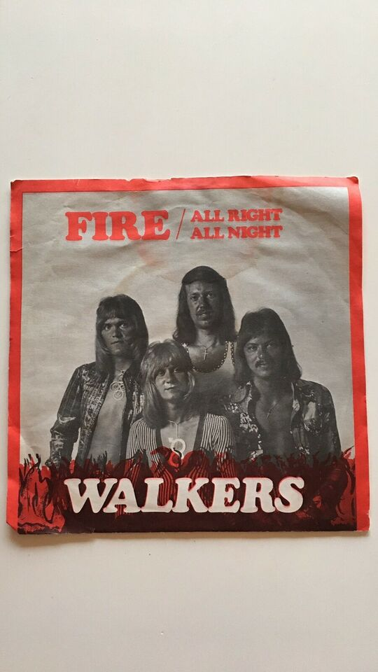 Single, Walkers, Fire/All Right All Night