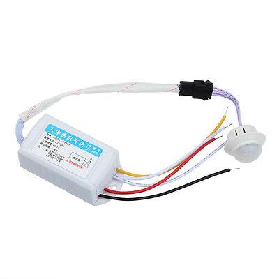 AC 220V Infrarrojo PIR Sensor Movimiento Interruptor Para bombilla LED 500W Max