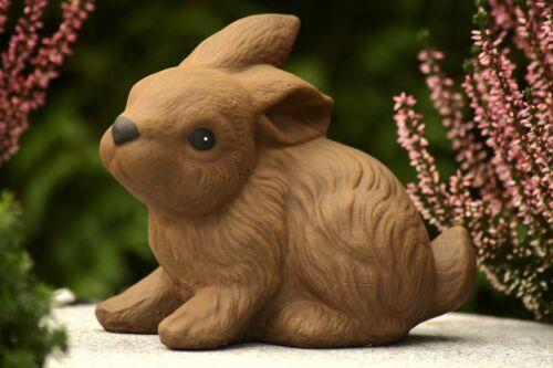 Gartenfigur Gartendeko Geschenk Figur Tierfigur Steinfigur Hase Kaninchen 193//2