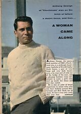 1960 TV ARTICLE~ANTHONY GEORGE~BURKE DEVLIN on DARK SHADOWS~ONE LIFE TO LIVE