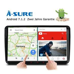 "9"" Android 7.1 GPS Autoradio für VW Golf Touran Passat Tiguan Sharan Polo SKODA"