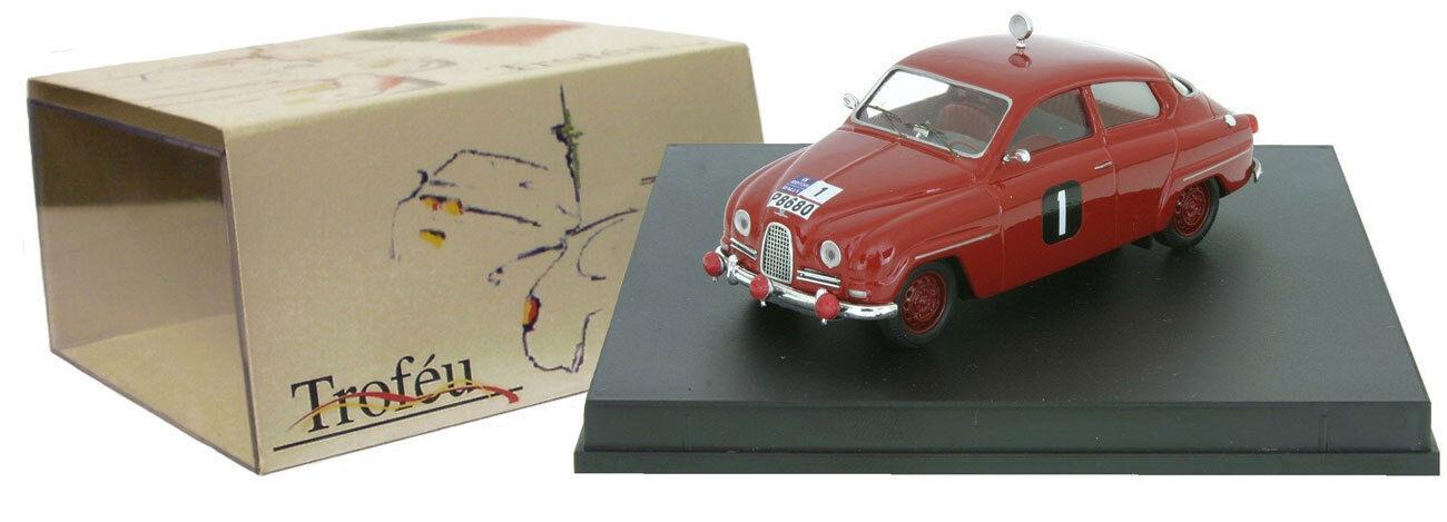 TROFEU 1506 SAAB 96  1 Winner RAC Rally 1961-ERIK CARLSSON échelle 1 43
