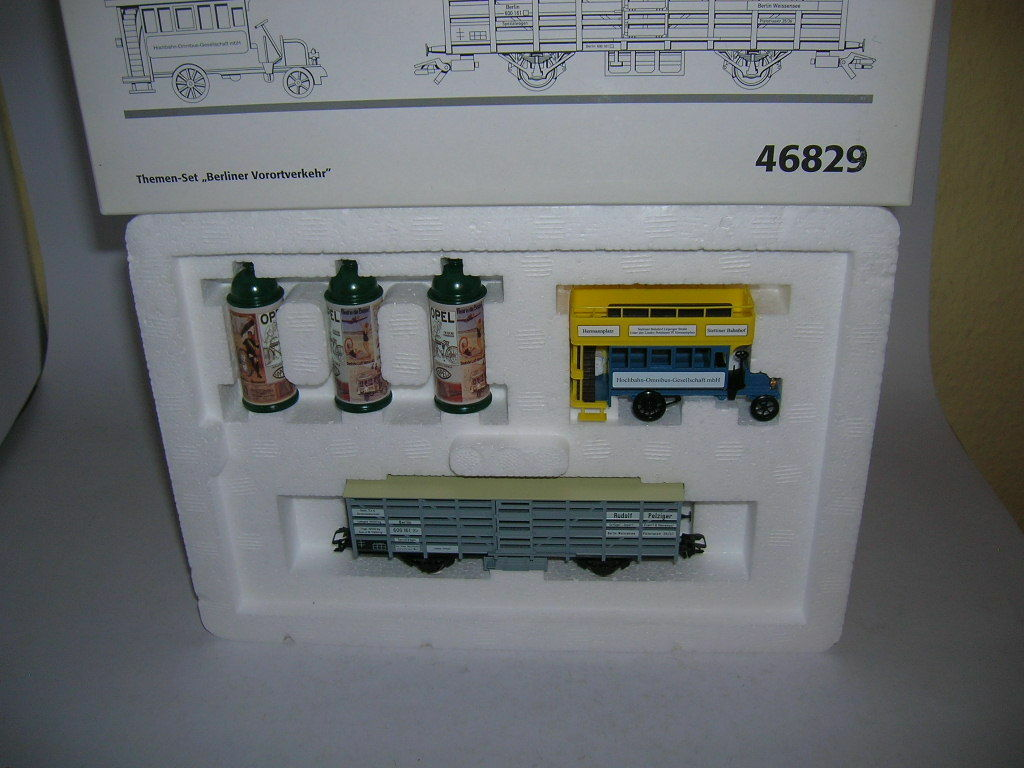 Märklin Gauge H0 Themes Set   Berlin Suburban   Item 46829