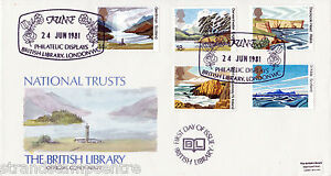1981 National Trust - British Library Official - HAND PAINTED VERSION + Normal