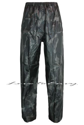 Uomo Donna Impermeabile Sopra Pantaloni Esercito Lavoro Outdoor Pesca STORM OVER Pantaloni.