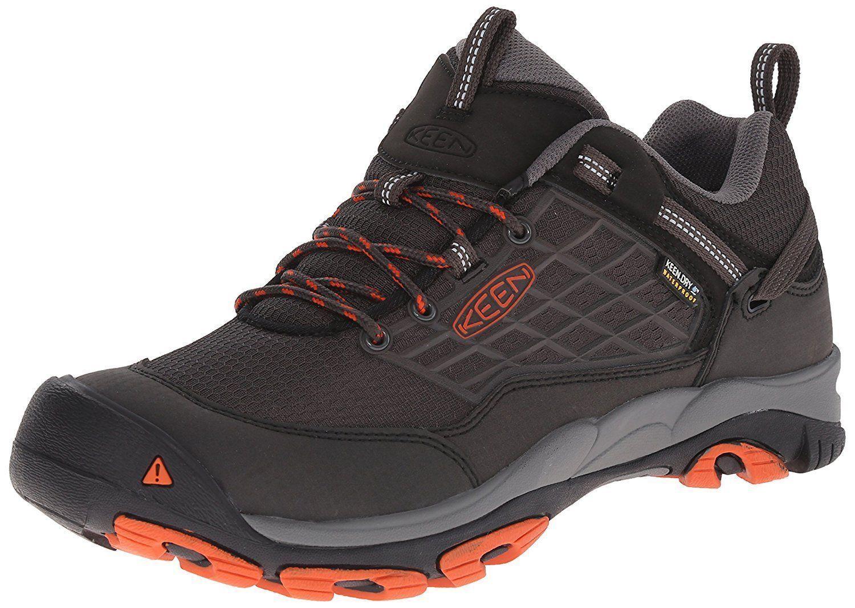 KEEN Men's Saltzman WP Outdoor shoes, Raven  Koi Hiking shoes []  quality product