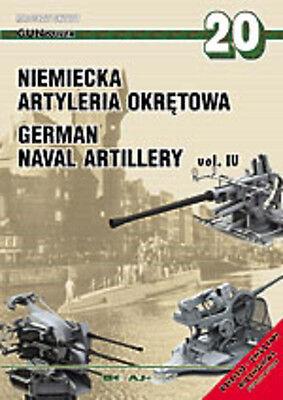 1/350 AJ PRESS GUNPOWER no 20 GERMAN NAVAL ARTILLERY vol. IV