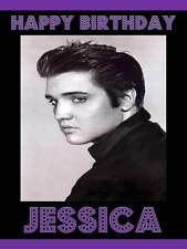 Item 6 Personalised Elvis Presley ANY RELATIONSHIP Birthday Greeting Card Envelope 99