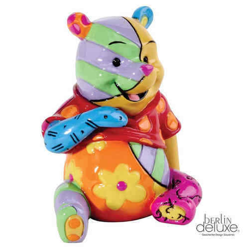 DISNEY by BRITTO Winnie the Pooh NEU/OVP Puh der Bär Pop-Art Design Mini Figur
