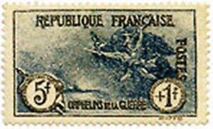 FRANCE-STAMP-N-232-034-ORPHELINS-DE-LA-GUERRE-LA-MARSEILLAISE-5F-1F-034-NEUF-x-TB