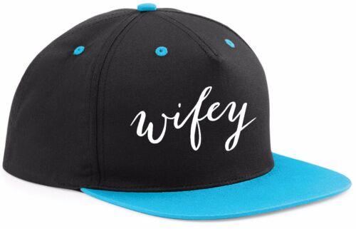 WIFEY hat cap SNAPBACK ADJUSTABLE FIT funny slogan hen wife girlfriend wedding