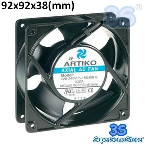 3S Ventilatore ventola di raffreddamento assiale 92x92x38 mm 230V per FRIGO PC..