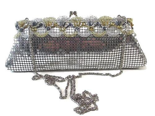 "Women Evening clutch Metal Mesh Party Prom Wedding Banquet purse USA Stock /""New/"""