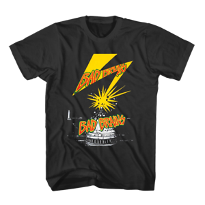 BAD BRAINS LOGO T-Shirt Tee Men/'s Tshirt Size S to 3XL