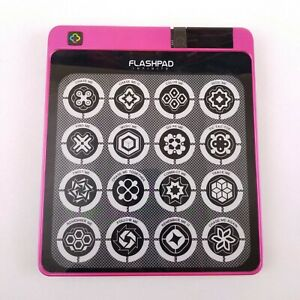 Flashpad-Infinite-33800-Touchscreen-Electronic-Game-Hot-Pink-w-LED-Lights-Tested