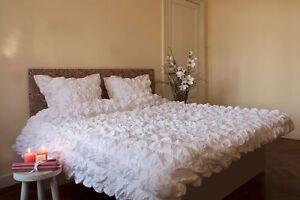 Hnl Batist Bettwäsche Cannes In Weiß 135 X 200 155 X 220 Cm Ebay