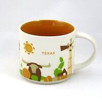 Starbucks You Are Here-texas Mug, New, Free Shipping