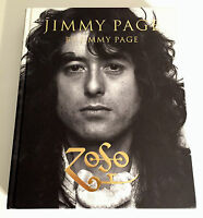 Stamped Signed By Way Of A Stamp By Jimmy Page 1st/1st Zoso Led Zeppelin