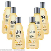 21,09€/l 6x 250ml Guhl Colour Shine Blonde Shampoo Chardonnay Berries Hair Care