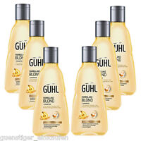 21,09€/l 6x 250ml Guhl Colour Shine Blonde Shampoo Chardonnay Berries Hair Care
