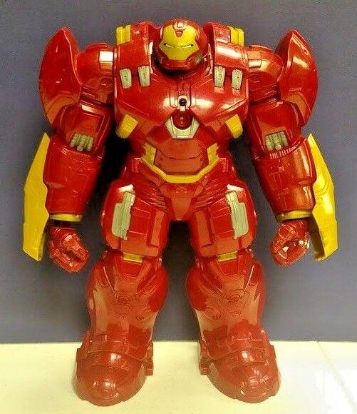 Marvel Avengers Hulk Buster action figure 12  Iron Man Suit Hasbro RARE 2015