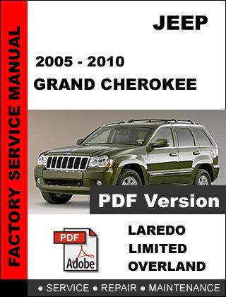 jeep grand cherokee 2005 2006 2007 2008 2009 2010 repair service rh ebay com 2005 jeep grand cherokee service manual 2005 jeep liberty shop manual