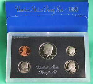 1975 S United States Mint Annual 6 Coin Proof Set Original Box