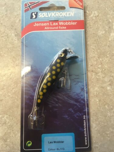 10g salmon Solvkroken jensen Allround Lax Wobbler seatrout Pike trout